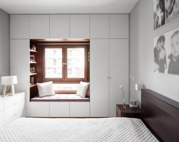 шкаф-ниша в спальне