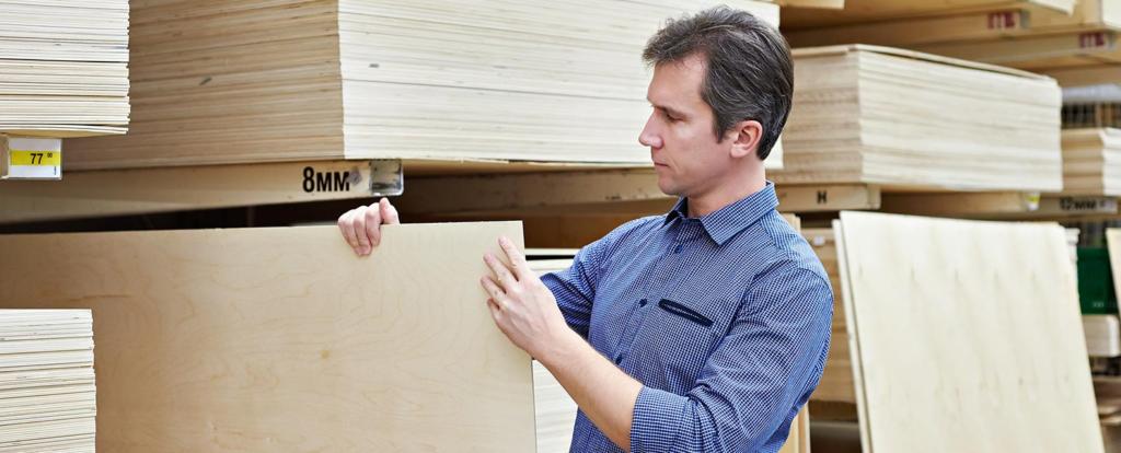 выбор мебельного щита для шкафа