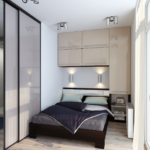 шкаф аркой над спальней