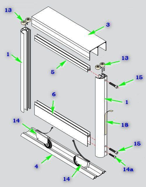 Как самостоятельно сделать и установить двери в шкаф купе в домашних условиях