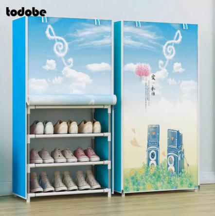 шкаф-обувница из ткани