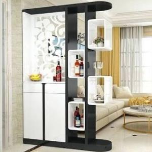 шкаф-стеллаж для зонирования комнат