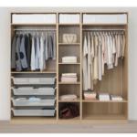Открытая гардеробная система от Икеа Пакс