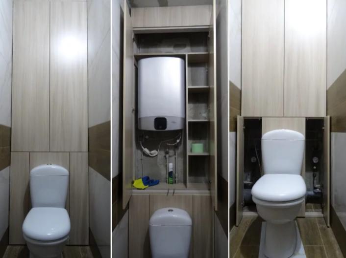 шкафчики в туалет своими руками