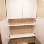 встроенный шкаф в туалете