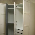 Шкаф белый угловой 3 модуля от Икеа