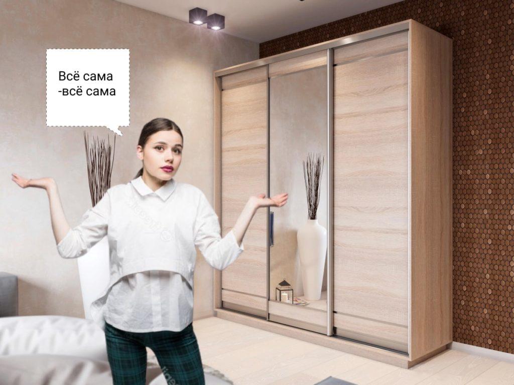 можно ли сделать шкаф-купе самому дома